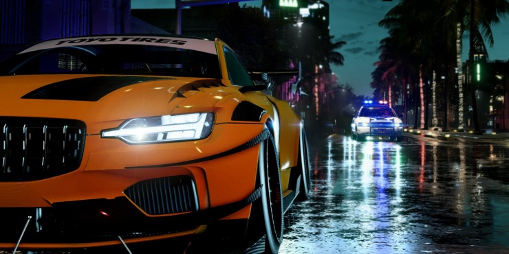 В Need For Speed: Heat у игроков не будет и шанса скрыться от погони